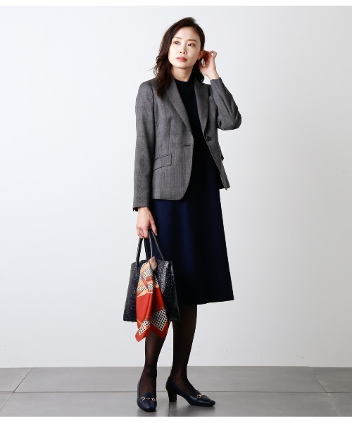 NEWYORKER Premium Knit Dress/Aラインニットワンピース