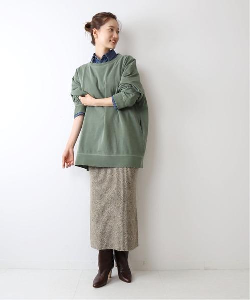 [Plage] *【R'IAM】Nepyarn スカート◆