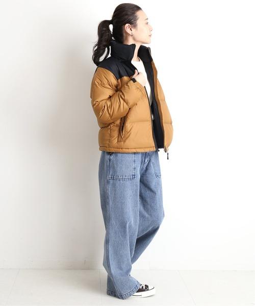 [IENA] 【THE NORTH FACE】 Short Nuptse ダウンジャケット【手洗い可】◆