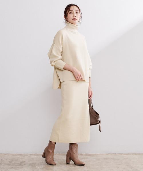 [ur's] ドルマンニット×タイトスカートセットアップ