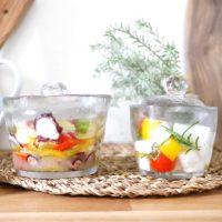 サラダ感覚で自家製浅漬けを。宝石箱のような「浅漬け鉢」