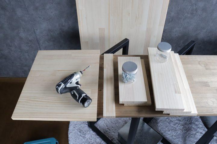 サイドテーブル DIY