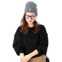ニット帽×メガネコーデ【2020秋冬】大人女性のおしゃれ上級者な着こなし♪