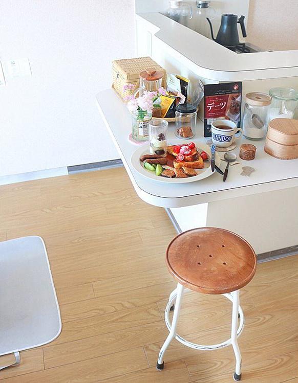 一人暮らしの小さなキッチンで生み出される豊かな食卓3