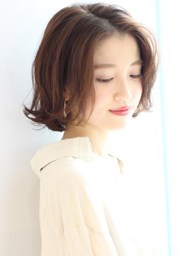 ミセスにもおすすめ!韓国ボブのヘアスタイル