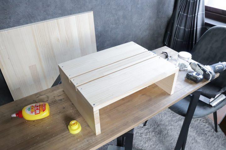 サイドテーブル DIY3