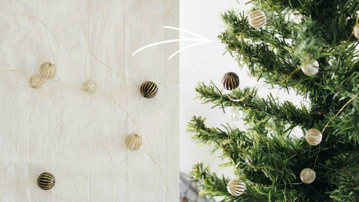 「クリスマスツリーを飾る」4