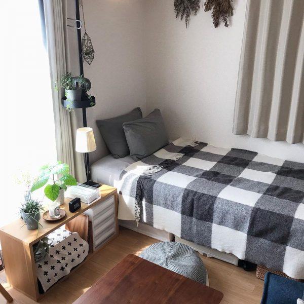 寝室インテリア 秋冬2