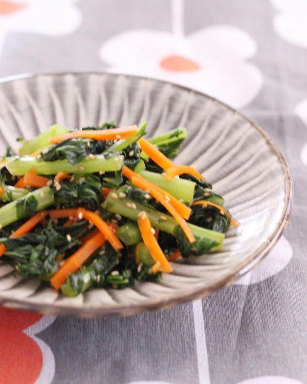 箸休めの小鉢の簡単レシピならお浸し