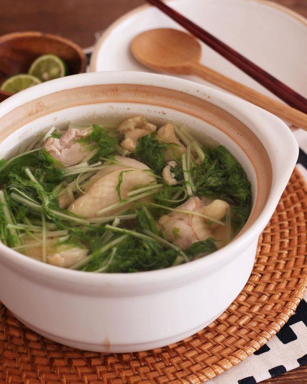 さっぱり煮込み料理の絶品鶏塩スープ煮