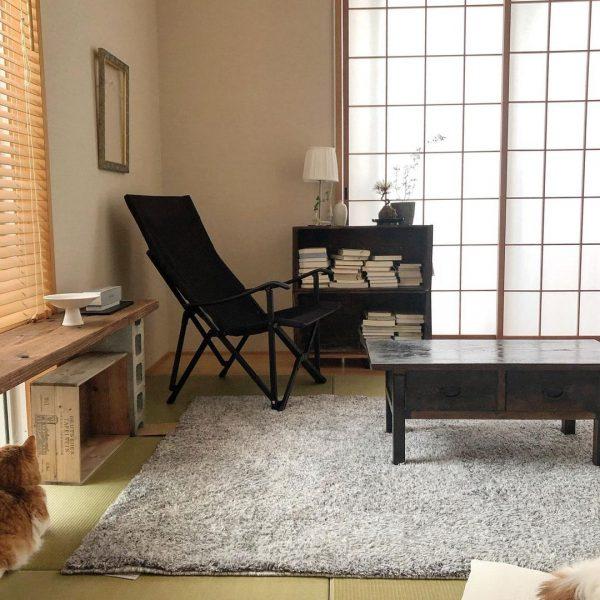 渋みのある家具が光る和室の一人暮らし