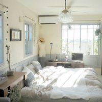 ベットからテレビを見る《寝室レイアウト》実例集!見やすい快適な配置をご紹介