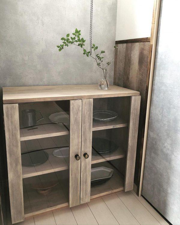 食器棚をDIY