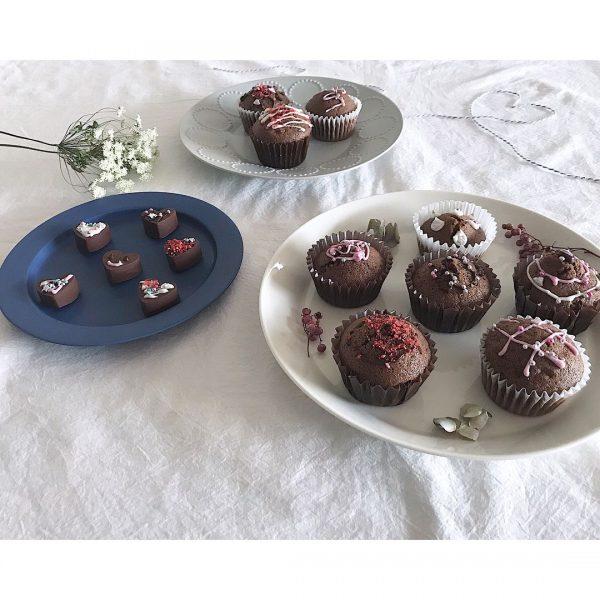 大人気!手作りチョコチップマフィン