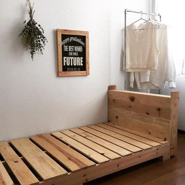 寝室 おしゃれ DIYアイデア4