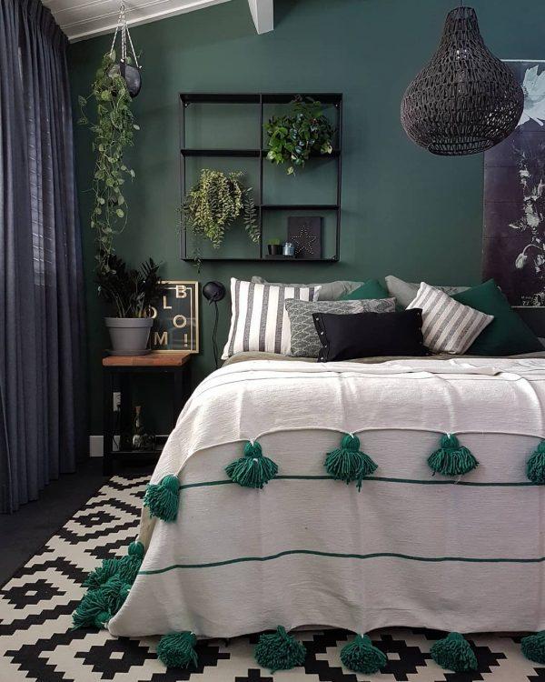 寝室 カーテン 風水 東方角2