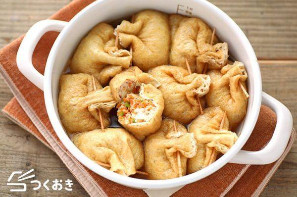 旨味を吸収する豆腐の巾着