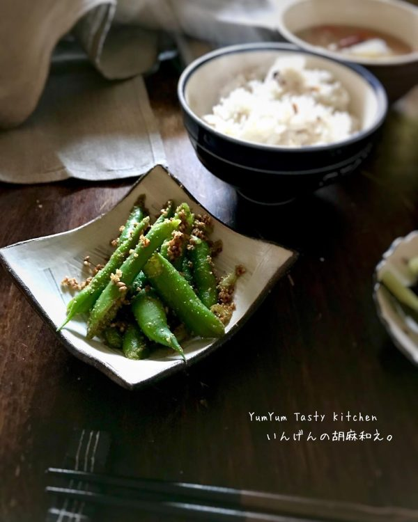 和食の箸休めの人気レシピのごま和え