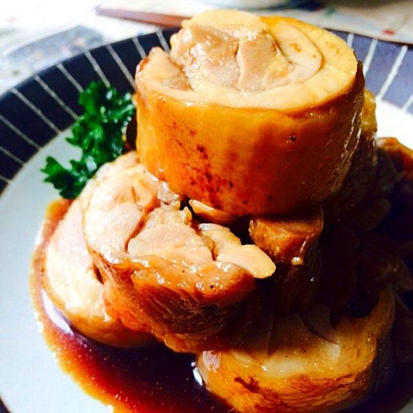 中華風の鶏肉絶品レシピのチャーシュー