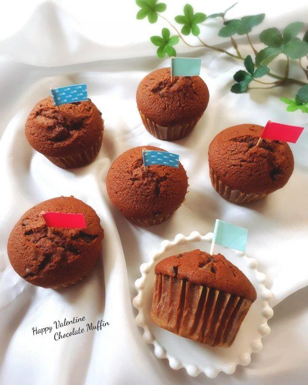 小学生向けの簡単焼き菓子のチョコマフィン
