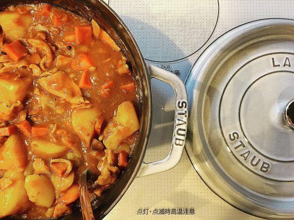 人気料理のカレーもストウブで作れる鍋料理