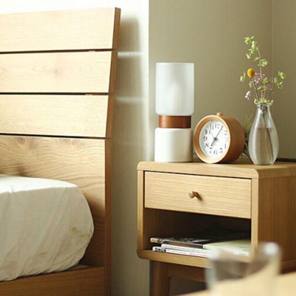 枕元に間接照明で陰陽のバランスを整える