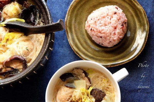 ピェンロー鍋風豆乳スープ