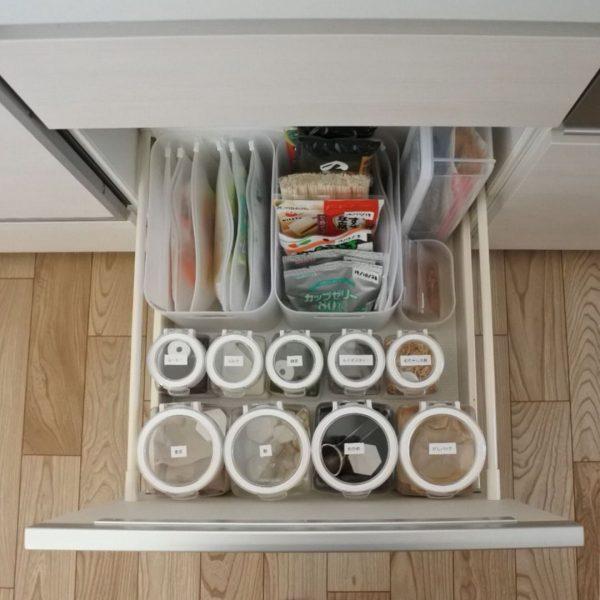 キッチン引き出し収納8