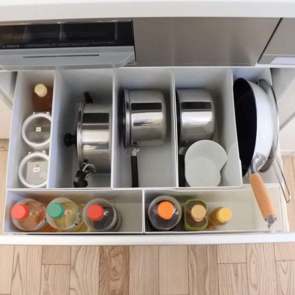 キッチン引き出し収納4