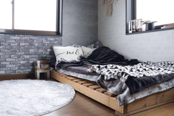 寝室 おしゃれ DIYアイデア6