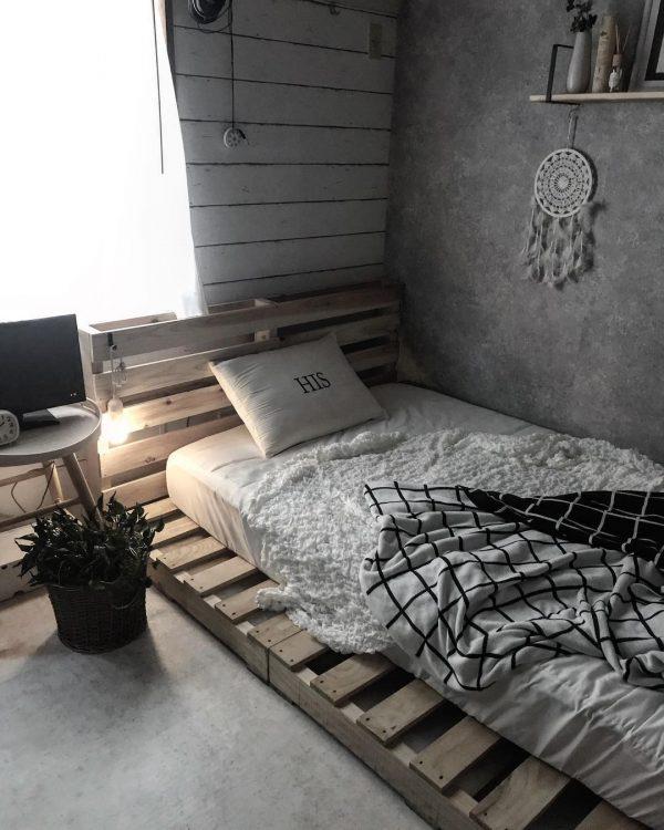 寝室 おしゃれ DIYアイデア7