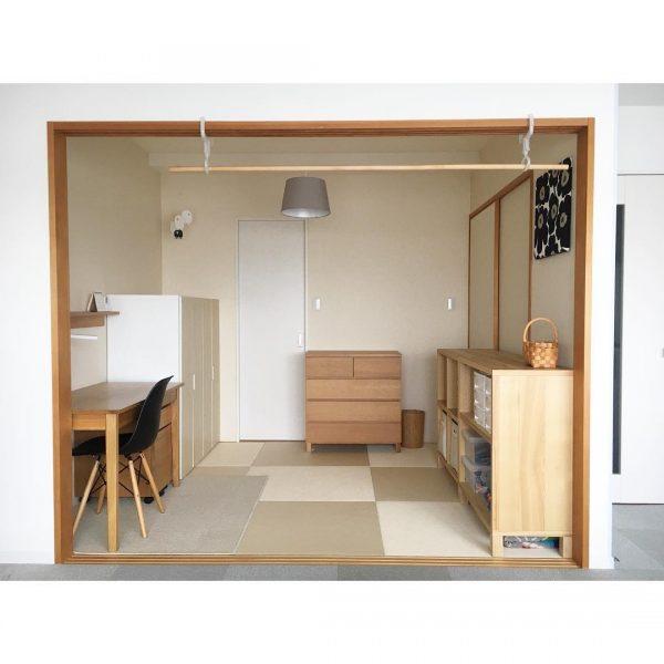 6畳 和室 おしゃれ 北欧風 レイアウト3