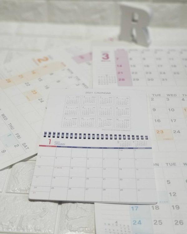 カレンダー・スケジュール帳8