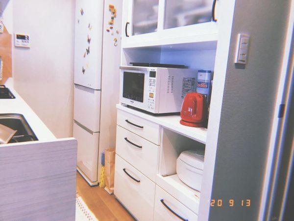 ニトリのキッチンボードで綺麗なキッチン