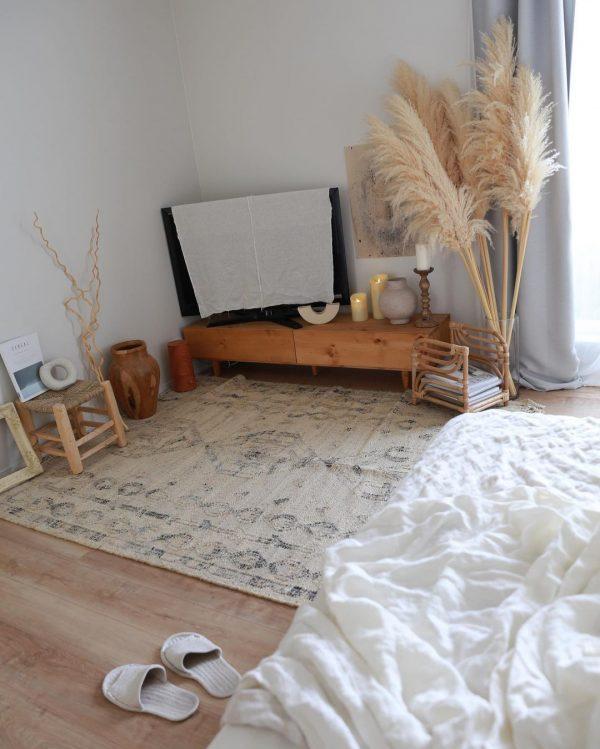 寝室インテリア 秋冬9
