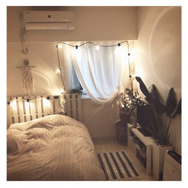 8畳寝室快眠ベッドレイアウト4
