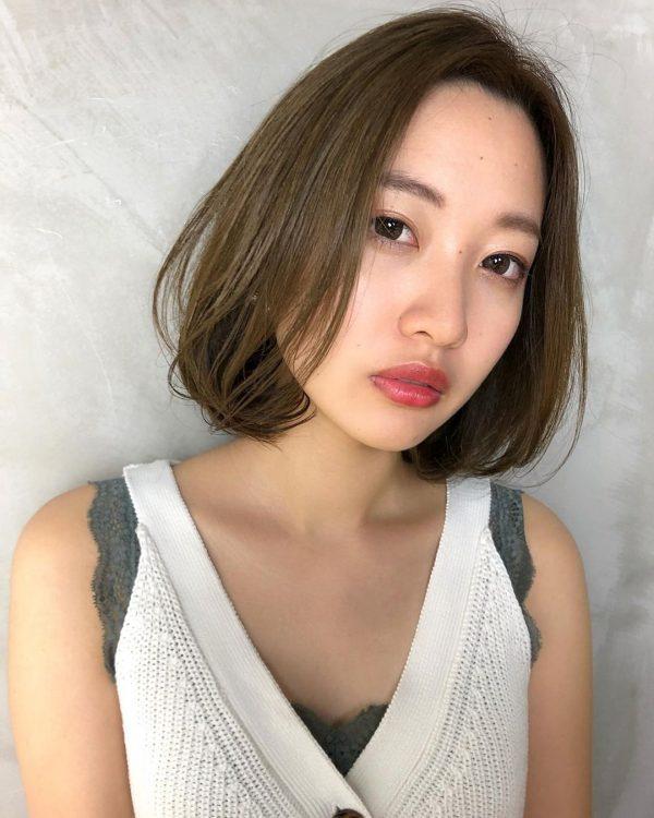 軽やかさが◎韓国ボブのヘアスタイル