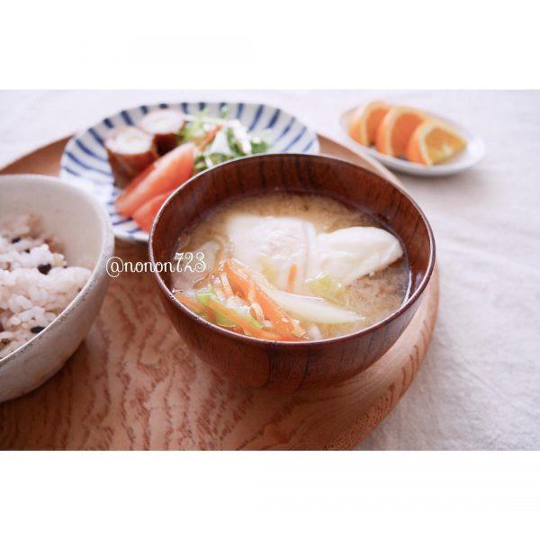 胃に優しい料理 レシピ 汁物2