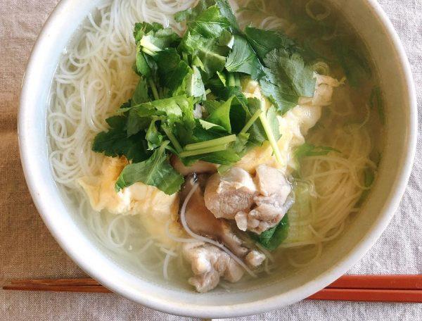 胃に優しい料理 レシピ 麺類3