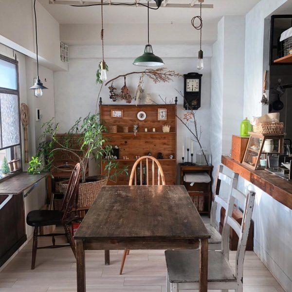 カフェのような対面ダイニングキッチン