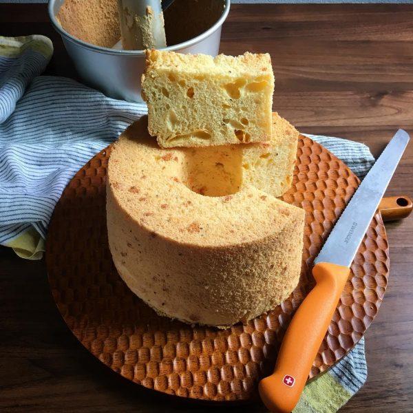 チーズシフォンケーキ