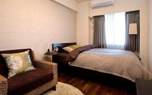8畳寝室快眠ベッドレイアウト12