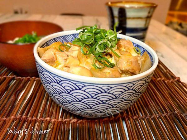 定番の和風丼レシピ♪親子丼