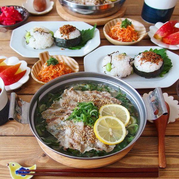 豚バラねぎ塩鍋はお腹に優しい人気鍋料理