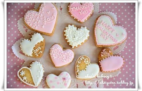 バレンタインで本命にあげたいハートクッキー