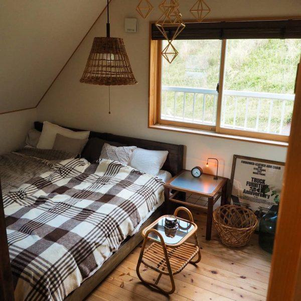 8畳寝室快眠ベッドレイアウト5