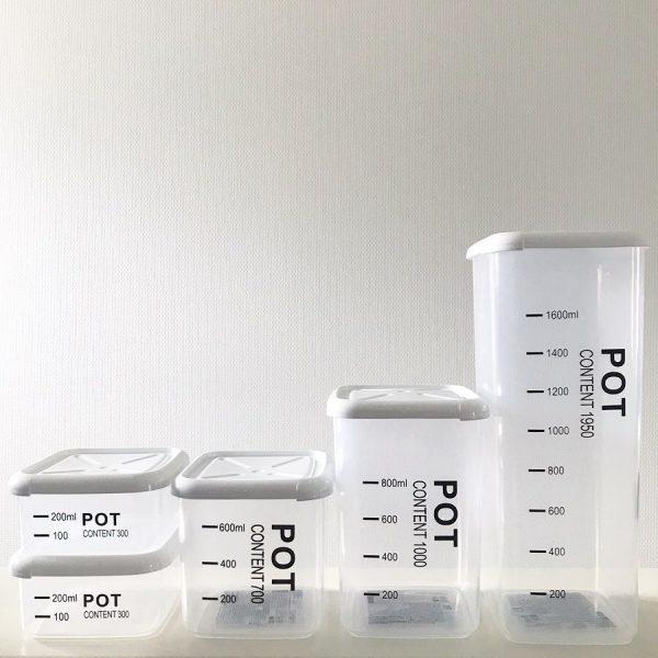 100均の保存容器11