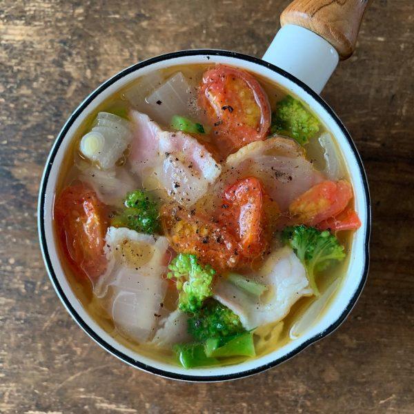 簡単ダイエットレシピ!具沢山の中華スープ