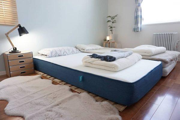 8畳寝室快眠ベッドレイアウト7