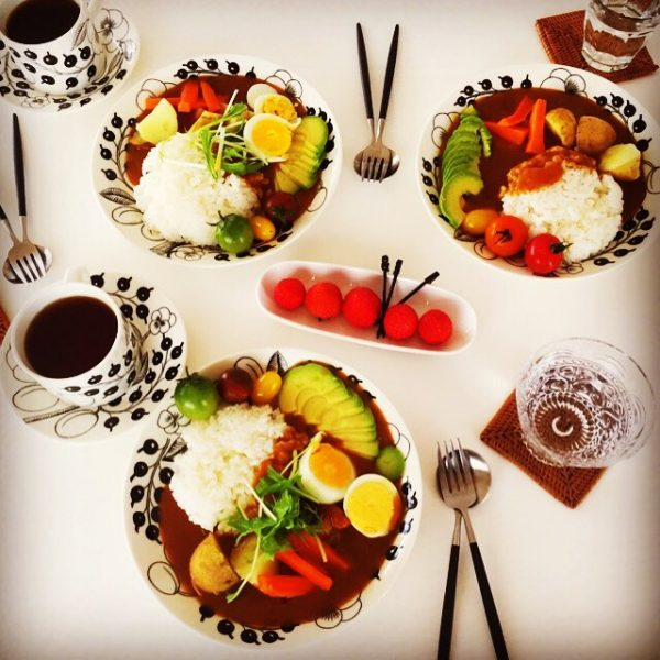 野菜たっぷりおすすめレシピの野菜カレー